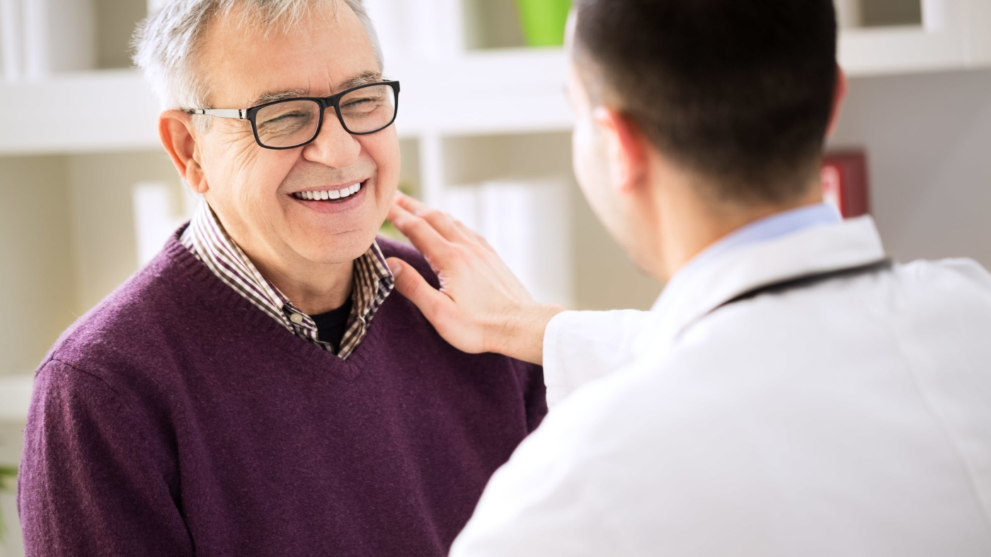 Hearing professional reaches out to a happy patient
